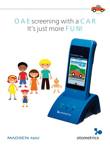 OAE  hearing screening  at your  fingertips...
