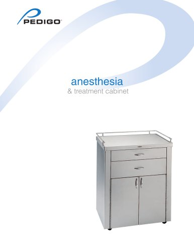 anesthesia & treatment cabinet