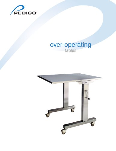over-operating tables