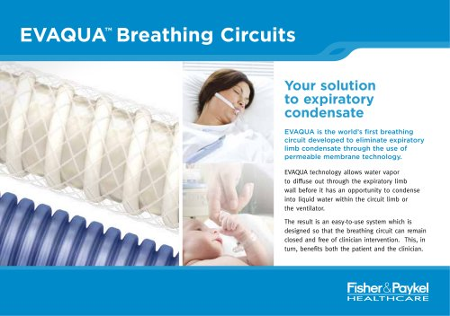 Evaqua? Breathing Circuits Brochure