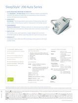 SleepStyle? 250 Specification Sheet - 4