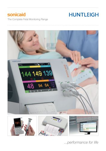 The Complete Fetal Monitoring Range