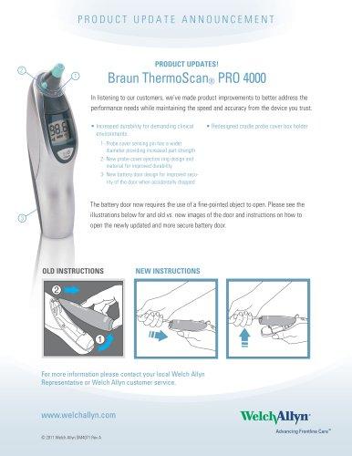Braun ThermoScan ®  PRO 4000