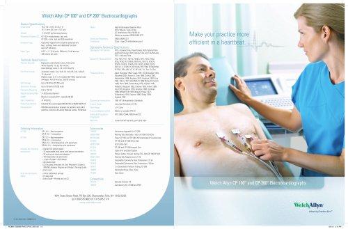 CP 100 & CP 200 Electrocardiographs