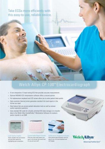 CP 100 Electrocardiograph