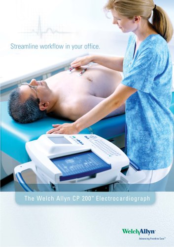 CP 200 Electrocardiograph