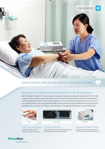 CP 50 Electrocardiograph Hospitals