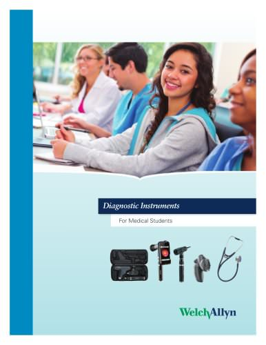 Diagnostic Instruments for Medical Students, Specialty Catalog
