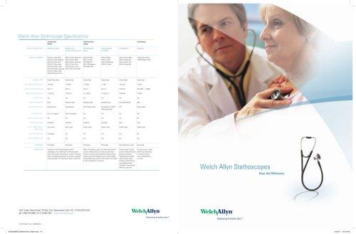 Full-Line Stethoscope, Brochure