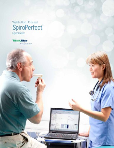 PC-Based SpiroPerfect Spirometer