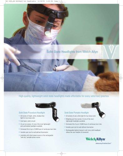 Veterinary Health Medical Exam Headlights Sell Sheet