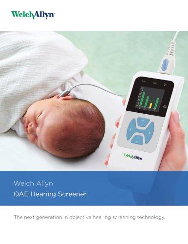 Welch Allyn 39500 Series OAE Hearing Screener