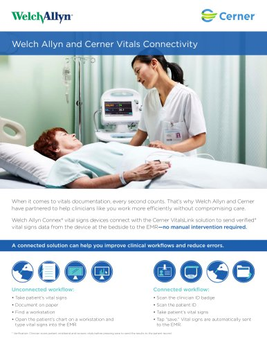Welch Allyn and Cerner Vitals Connectivity