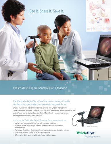 Welch Allyn Digital MacroView Otoscope