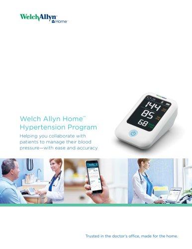 Welch Allyn Home Hypertension Program
