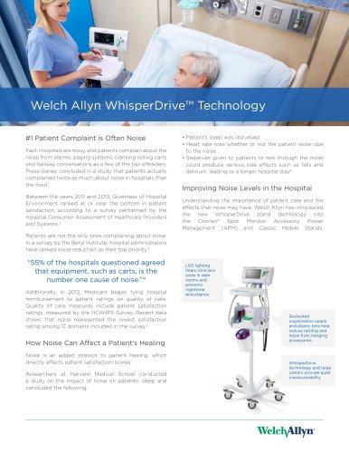 Welch Allyn WhisperDrive™ Technology