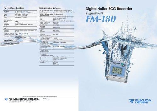 Digital Holter Recorder Digital Walk FM-180