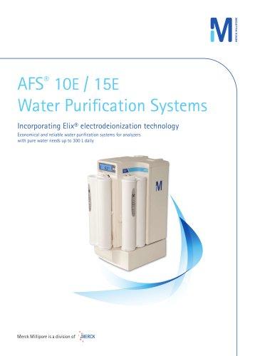 AFS® 10E / 15E Water Purification Systems