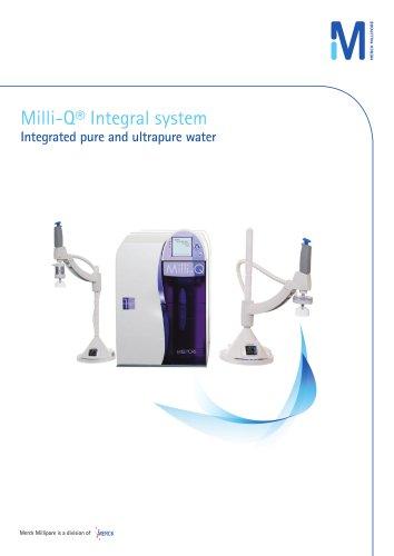 Milli-Q® Integral system