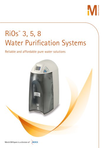 RiOs 3, 5, 8 Water Purification Systems