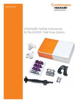VISIONAIRE FastPak Instruments for the LEGION™ Total Knee System