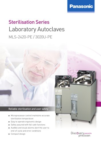 Autoclaves MLS-2420/3020