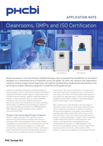 Cleanroom Classification
