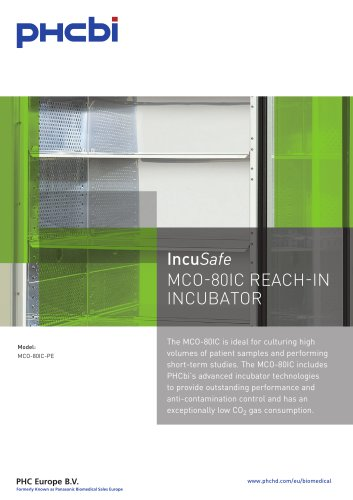 IncuSafe MCO-80IC REACH-IN INCUBATOR