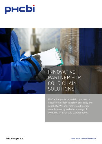 INNOVATIVE PARTNER FOR COLD CHAIN SOLUTIONS