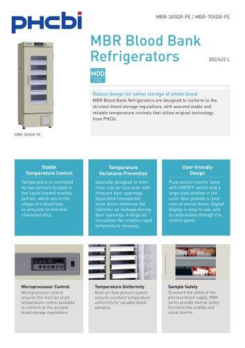 MBR-305GR-PE & MBR-705GR-PE Blood Bank Refrigerator