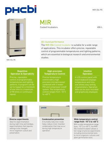 MIR-554-PE Cooled Incubator