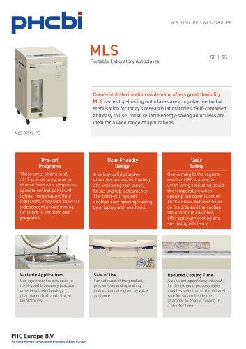 MLS-3751L Portable labaratory autoclaves