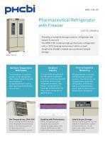 MPR-715F-PE Pharmaceutical Refrigerator with Freezer