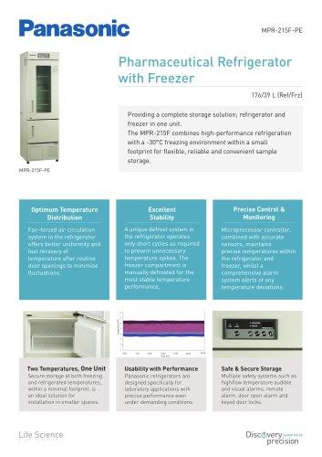 Pharmaceutical Refrigerator with Freezer MPR-215F-PE
