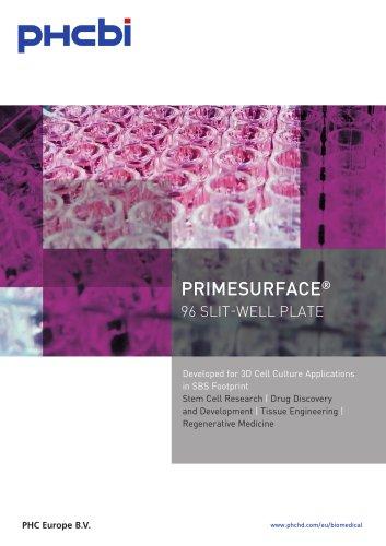 PrimeSurface 96 Slit-Well Plate
