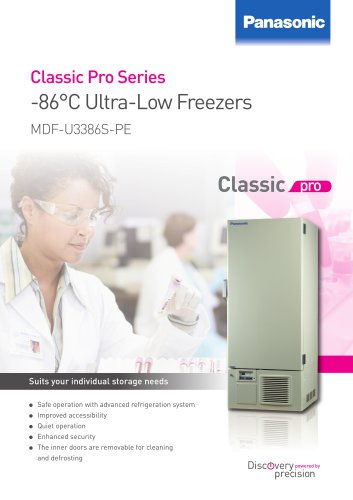 Ultra-Low Temperature Freezer MDF-U3386S