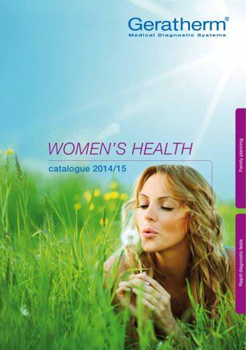 Catalogue Women's Health