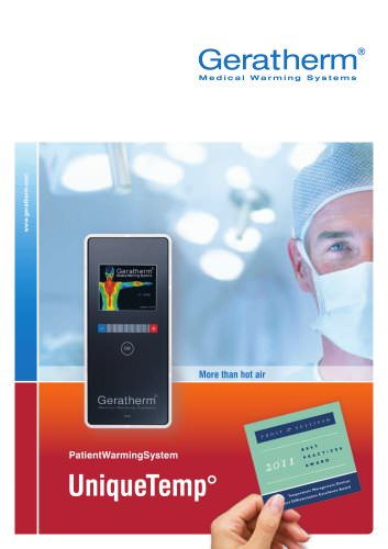 patient warming system UniqueTemp°