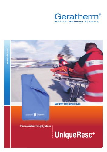 rescue warming system UniqueResc+