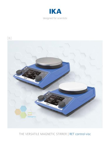 THE VERSATILE MAGNETIC STIRRER | RET control-visc