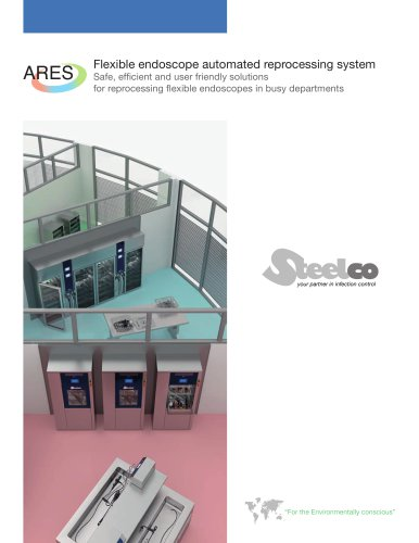 ARES - flexible endoscope reprocessing and storage