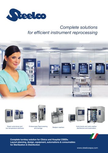 Complete solutions for efficient instrument reprocessing