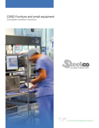 CSSD Furniture and small equipment