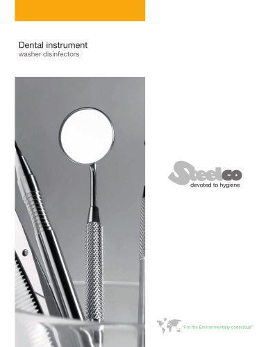 Dental instruments washer disinfectors