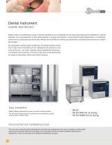 Dental instruments washer disinfectors - 2