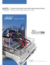 Flexible endoscope automated reprocessing system - 1
