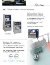 Flexible endoscope automated reprocessing system - 2