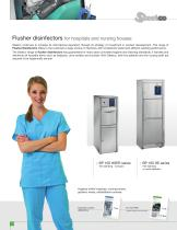 Flusher disinfectors for hospitals and nursing houses - 2