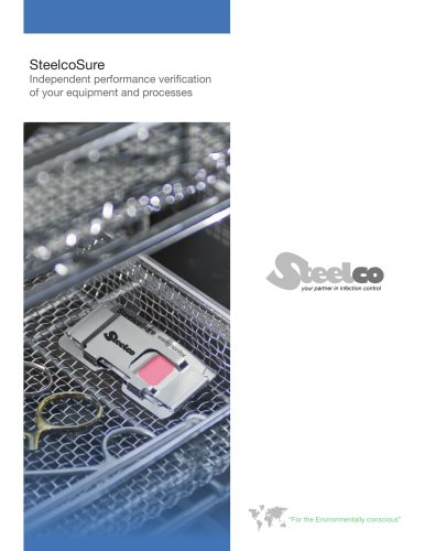 SteelcoSure Independant performance verification of your equipment and processes