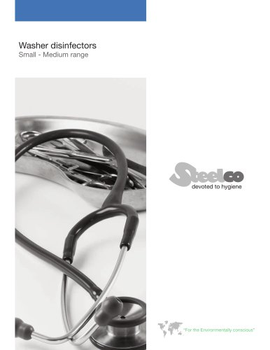 Surgical instruments washer disinfectors